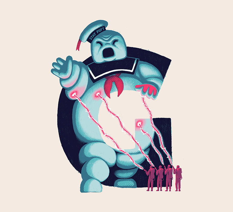 G is for Ghostbusters