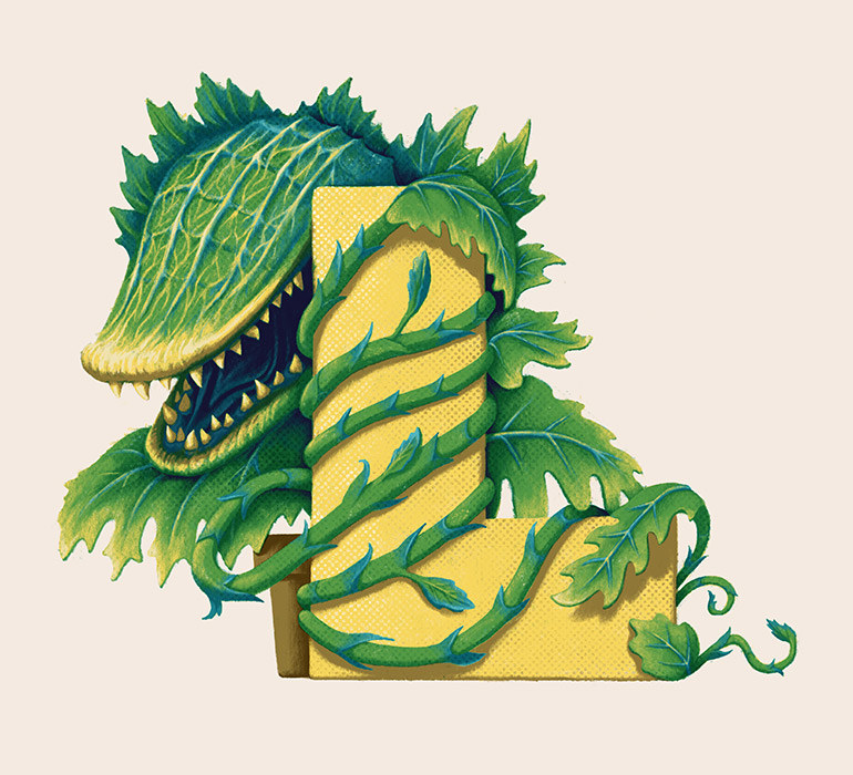 L is for Little Shop Of Horrors