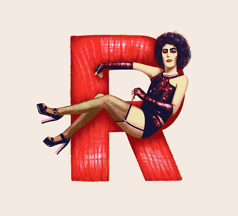 R is for The Rocky Horror Picture Show
