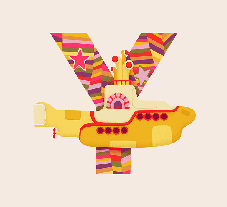 Y is for Yellow Submarine